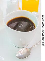 caliente, café