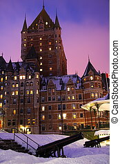 Quebec City landmark, Chateau Frontenac