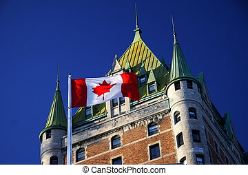Quebec City landmark - Quebec City most famous landmark,...