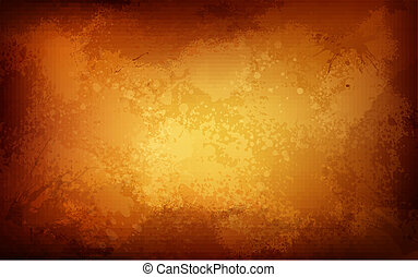 Rusty Grungy Background - illustration of rusty textured...
