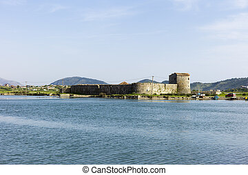 Ali Pasha Castle, Butrint, Albania - The castle is popularly...