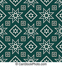 Seamless pattern - Decorative geometric seamless pattern...