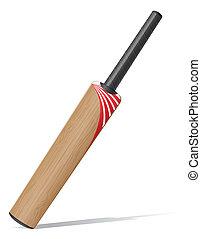 bat for criket cricet vector illustration isolated on white...