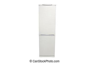 refrigerator under the white background