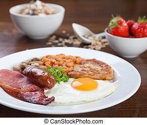 Full English breakfast - Tasty looking full English...