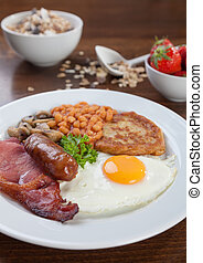 Full English breakfast - Tasty looking full English...