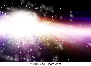 star dust in the universe