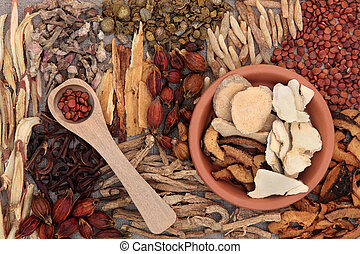 Chinese Medicinal Herbs - Traditional chinese herbal...