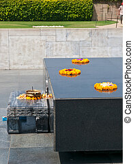 Raj Ghat park - Raj Ghat, a memorial to Mahatma Gandhi is a...