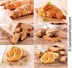 Pastry time - Large group of the pastry food