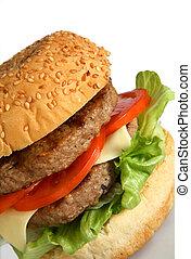 Beefburger - homemade beefburger