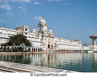 Amritsar - The Harmandir Sahib Complex, the spiritual and...