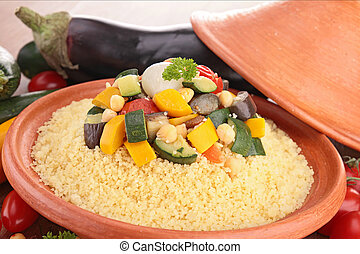 Couscous, vegetariano