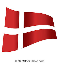 vector denmark flag