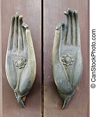 Ancient door knob