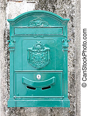 letter-box on a wall