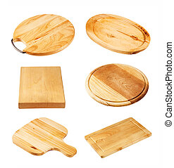 Wooden cutting boards - Various wooden cutting boards...