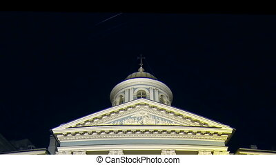 Armenian Church in St Petersburg Night