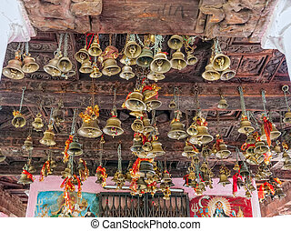 Bells of the old temple Chamunda Mata - Chamba city Temple...
