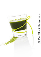 Green drink. - Healthy living. Spirulina; chlorella and...