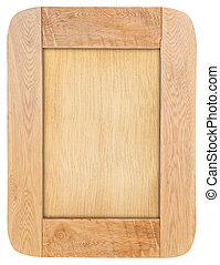 wood frame - Wood frame isolated on white background