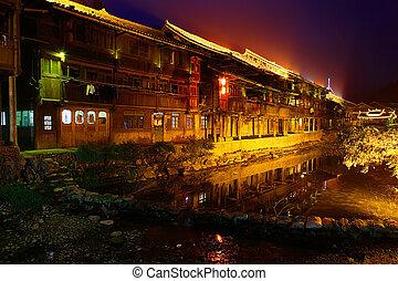 Zhaoxing Town, Liping County, Guizhou, China Zhaoxing Dong...