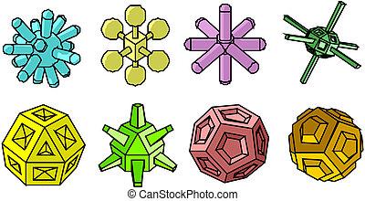atomic icons