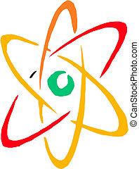 Simbolo, vettore, atomo