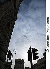 Rome street scene - Street scene in Rome, Italy