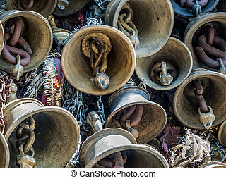 Temple Chamunda Mata - Chamba city - Bells of the old temple...