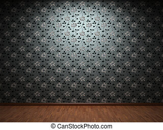 Fabric wallpaper - Illuminated fabric wallpaper