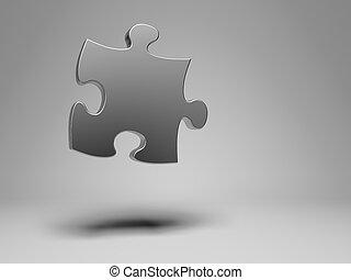 Puzzle piece composition