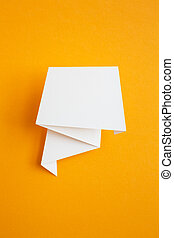 paper sticker - white paper sticker
