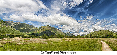 Argyll and Bute Panorama - A Panoramic image of the...