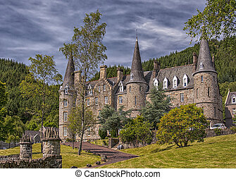 Tigh Mor Trossachs 01 - TROSSACHS, SCOTLAND - July 09, 2013:...