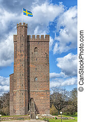 Karnan Helsingborg 01 - The ancient medieval fortificatio...