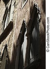 byggnad, Italien, yttre