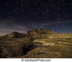 Stars over the desert