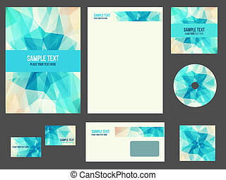 Corporate identity stationery for company - Corporate...