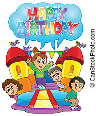 Kids party theme image 6 - eps10 vector illustration.