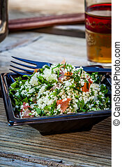 Moroccan food - traditional tabbouleh salad from morocco...