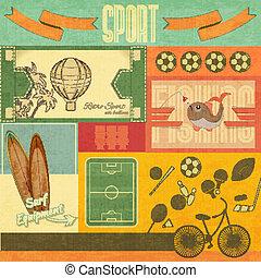 Retro Sport Card