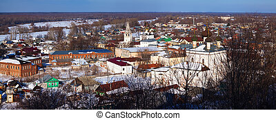 Panoramic view of Gorokhovets - Panoramic view of...