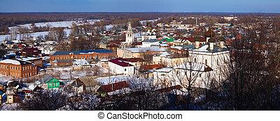 Panoramic view of Gorokhovets - Panoramic view of...