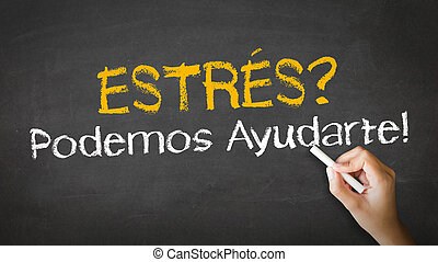 Stress we can help (In Spanish)