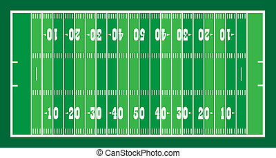 field for american football vector