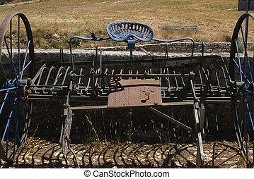 Antique-plow