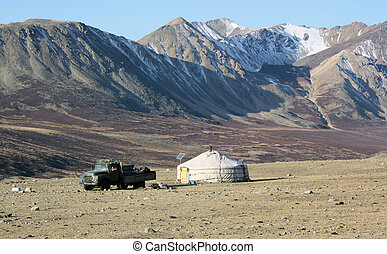 Mongolia country