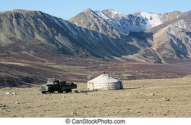 Mongolia country