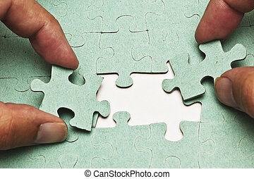 The Two Puzzle Pieces